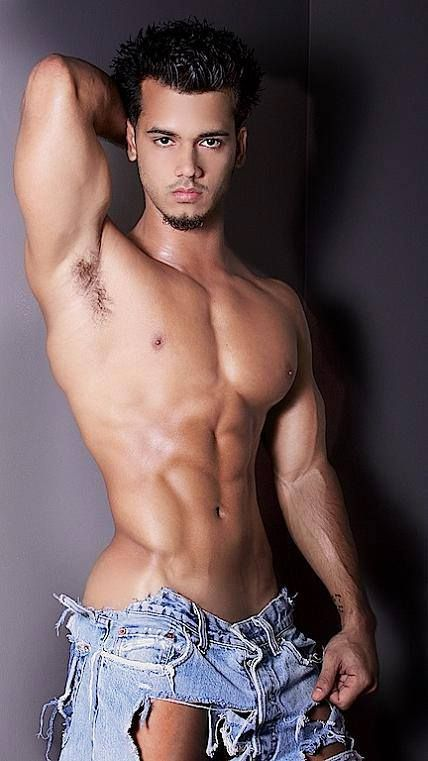 Hot hispanic male models