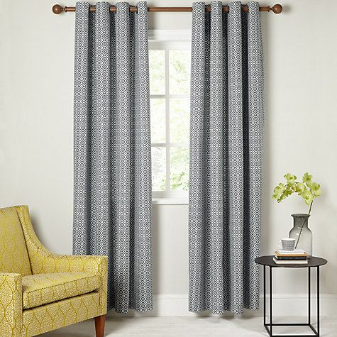 Buy John Lewis Nazca Lined Eyelet Curtains Online At Johnlewis Teal CurtainsSpare RoomLiving