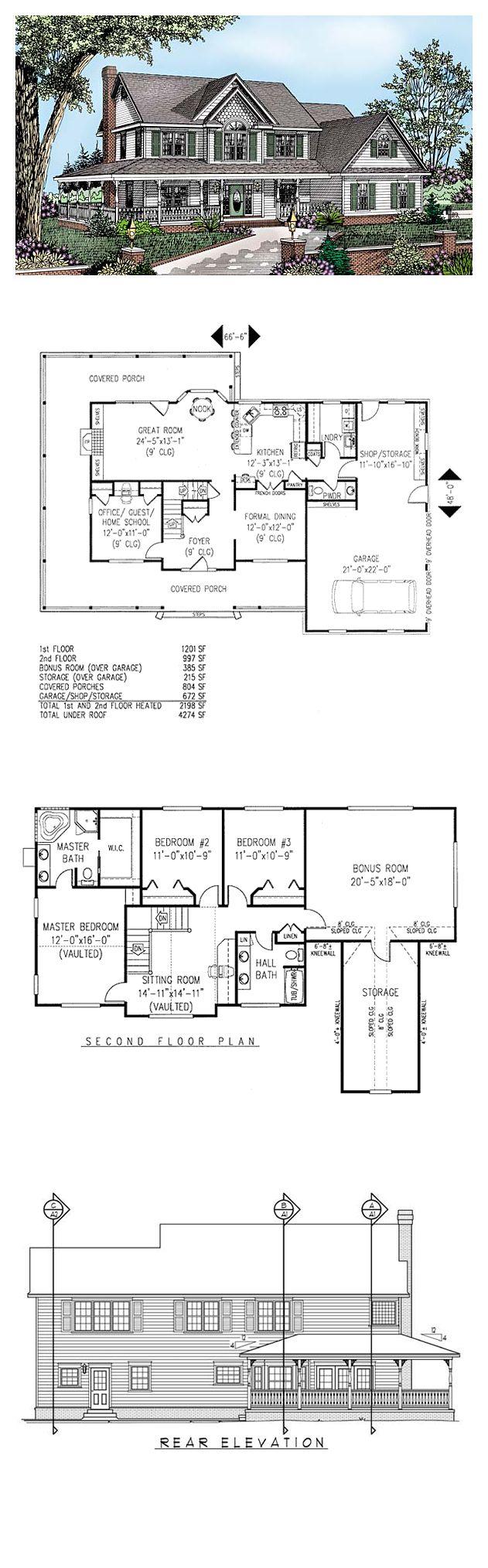 Farmhouse house plan chp houses pinterest house house