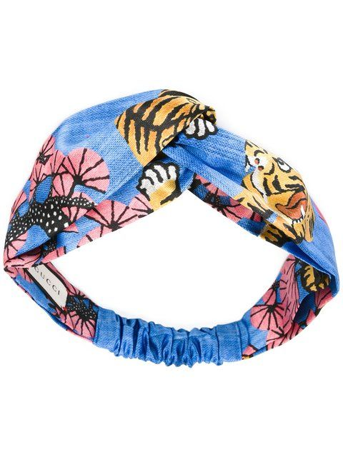 419ebe4365f GUCCI tiger print headband.  gucci  headband