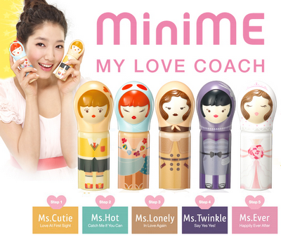 MiniMe My Love Coach perfume! i would get all of these just for the packaging, they are so cute!