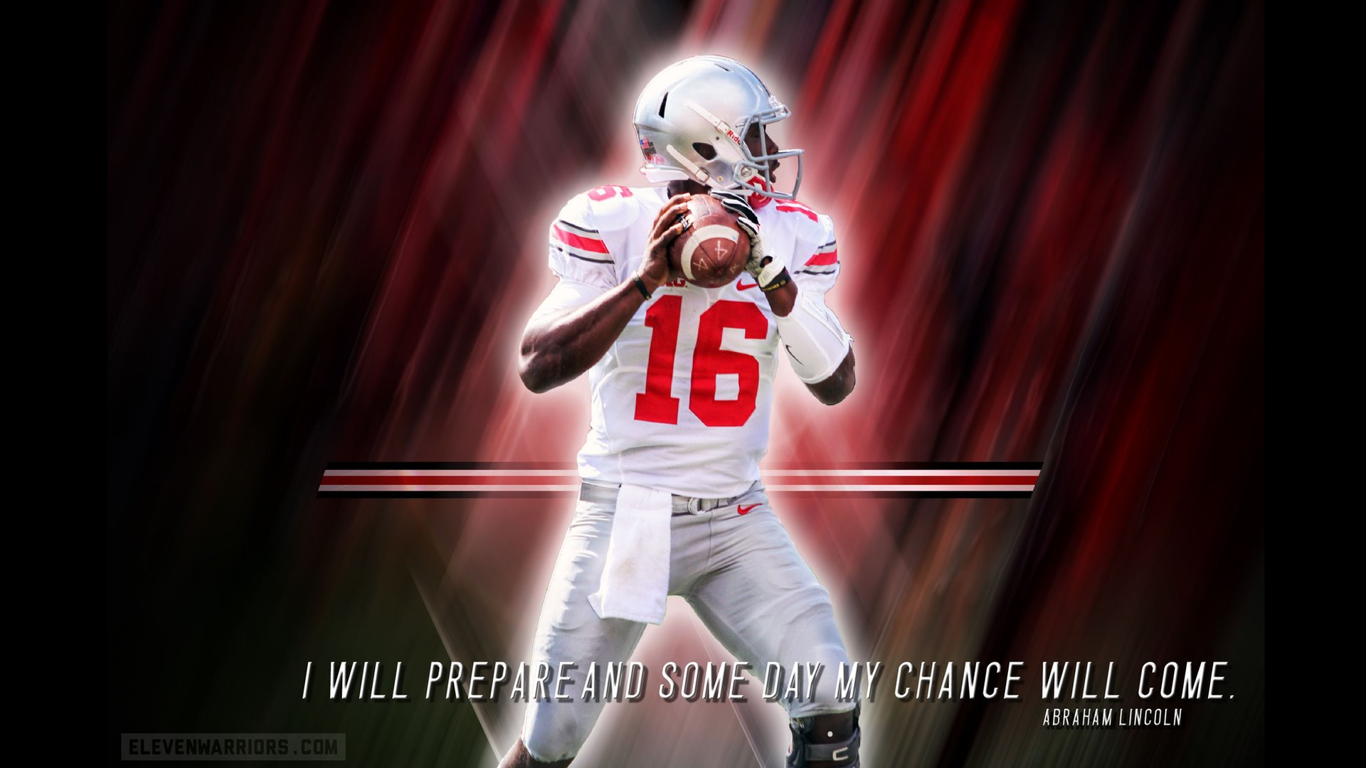 2014 J T Barrett Wallpaper By Jeremy Birmingham Ohio State