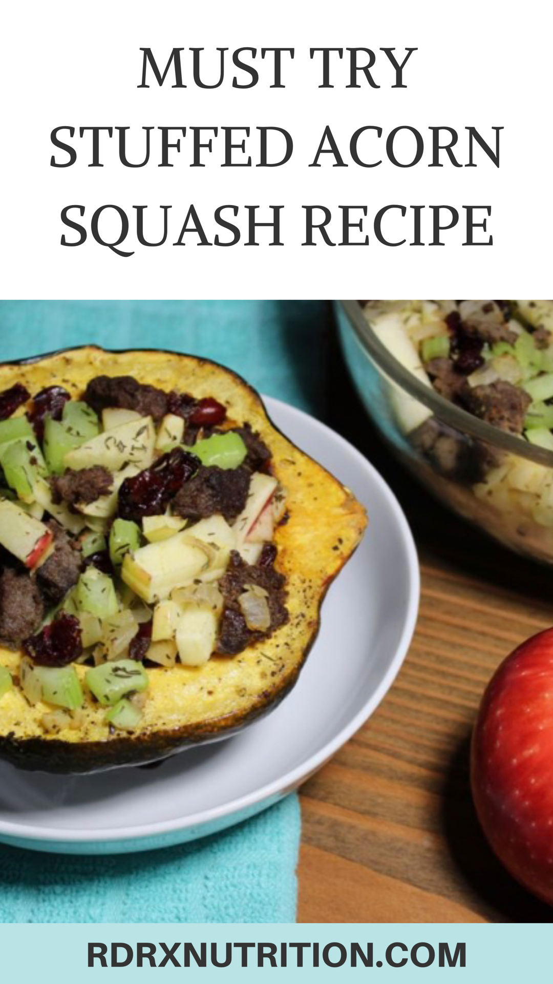 Healthy Stuffed Acorn Squash With Images Nutrition Recipes