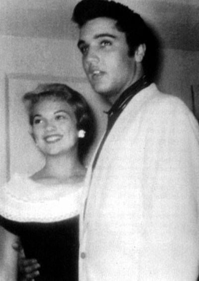 Elvis and Anita Woods