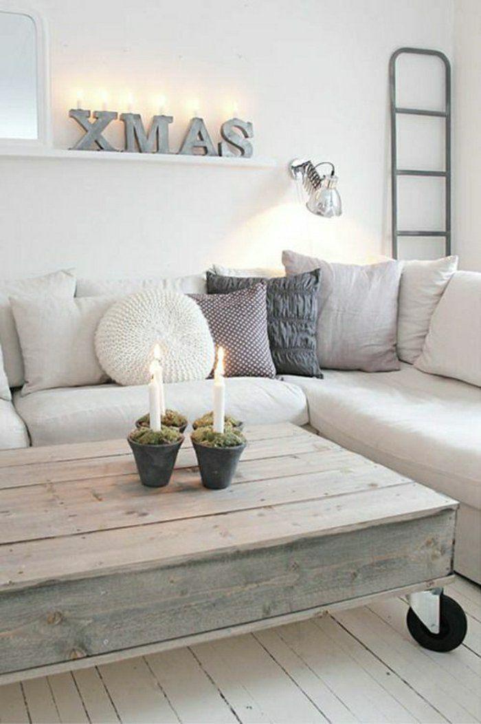 Plusieurs Designs Pour La Table De Salon En Palette | Salons