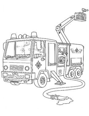 Ausmalbild Feuerwehrmann Sam Ausmalbilder Feuerwehr Ausmalbilder Feuerwehrmann Sam Malvorlage Feuerwehr