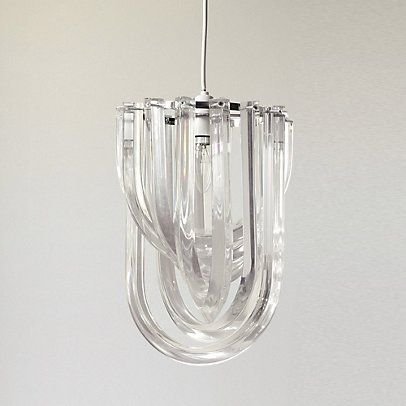 Home Accessories Lighting Deco Shade Chandelier From The White Company