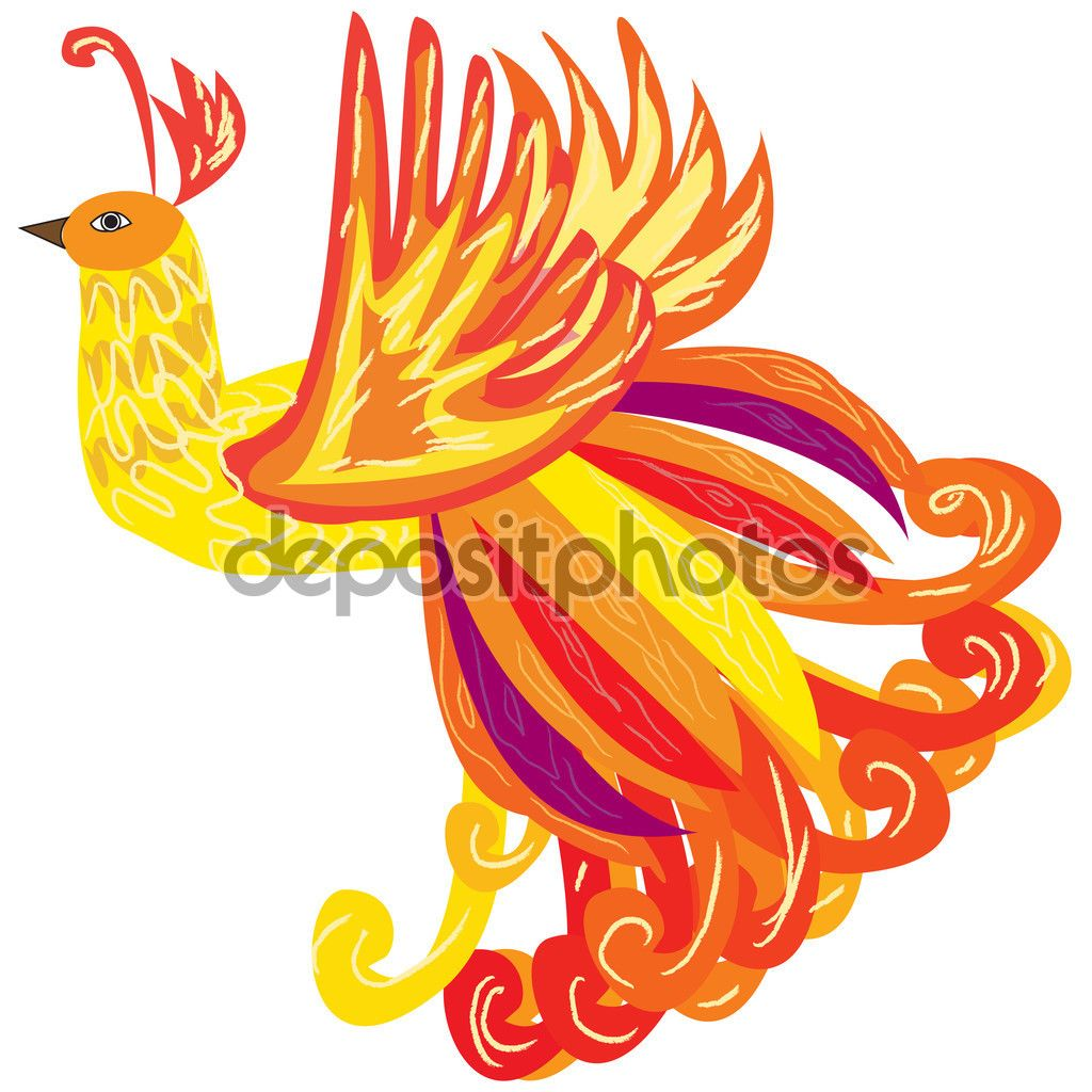 The phoenix bird as a symbol of rebirth vector illustration stock the phoenix bird as a symbol of rebirth vector illustration stock illustration 100802940 biocorpaavc Gallery