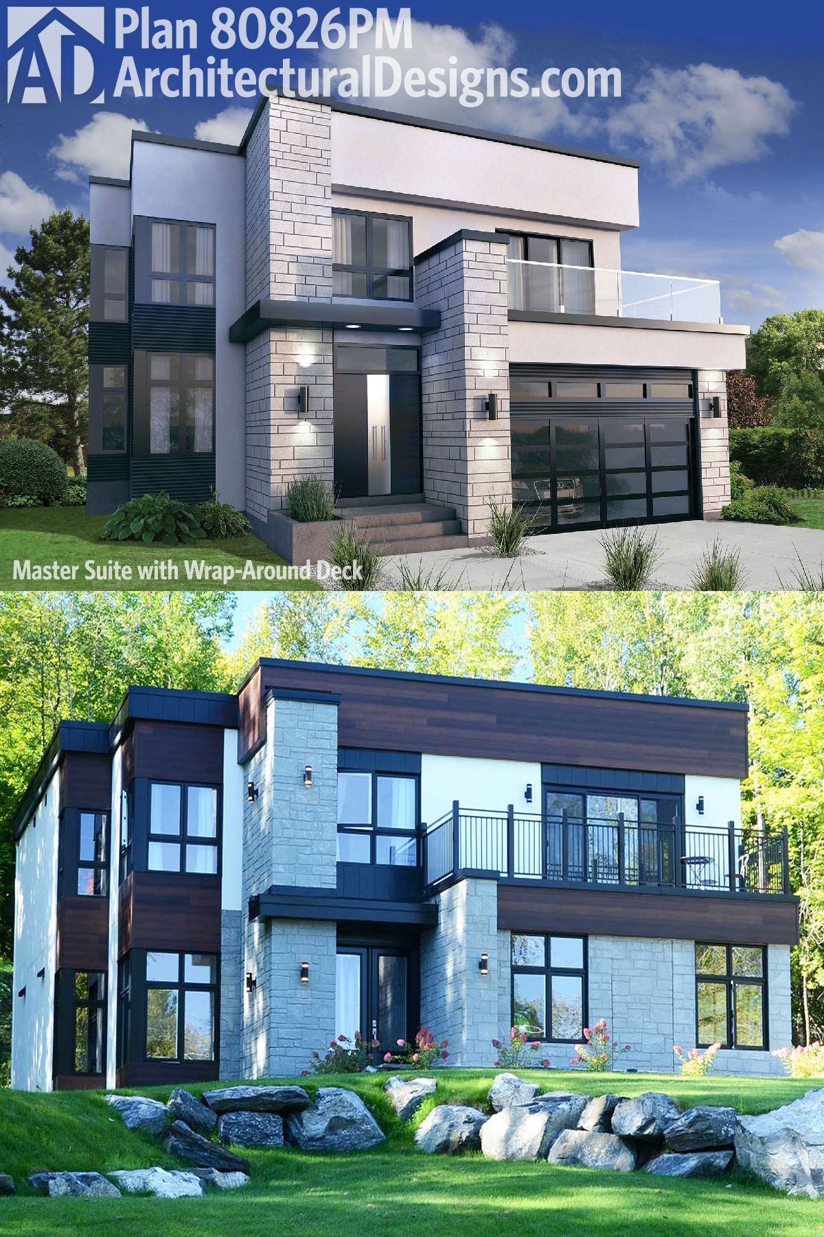 Our first pictures of Architectural Designs Modern