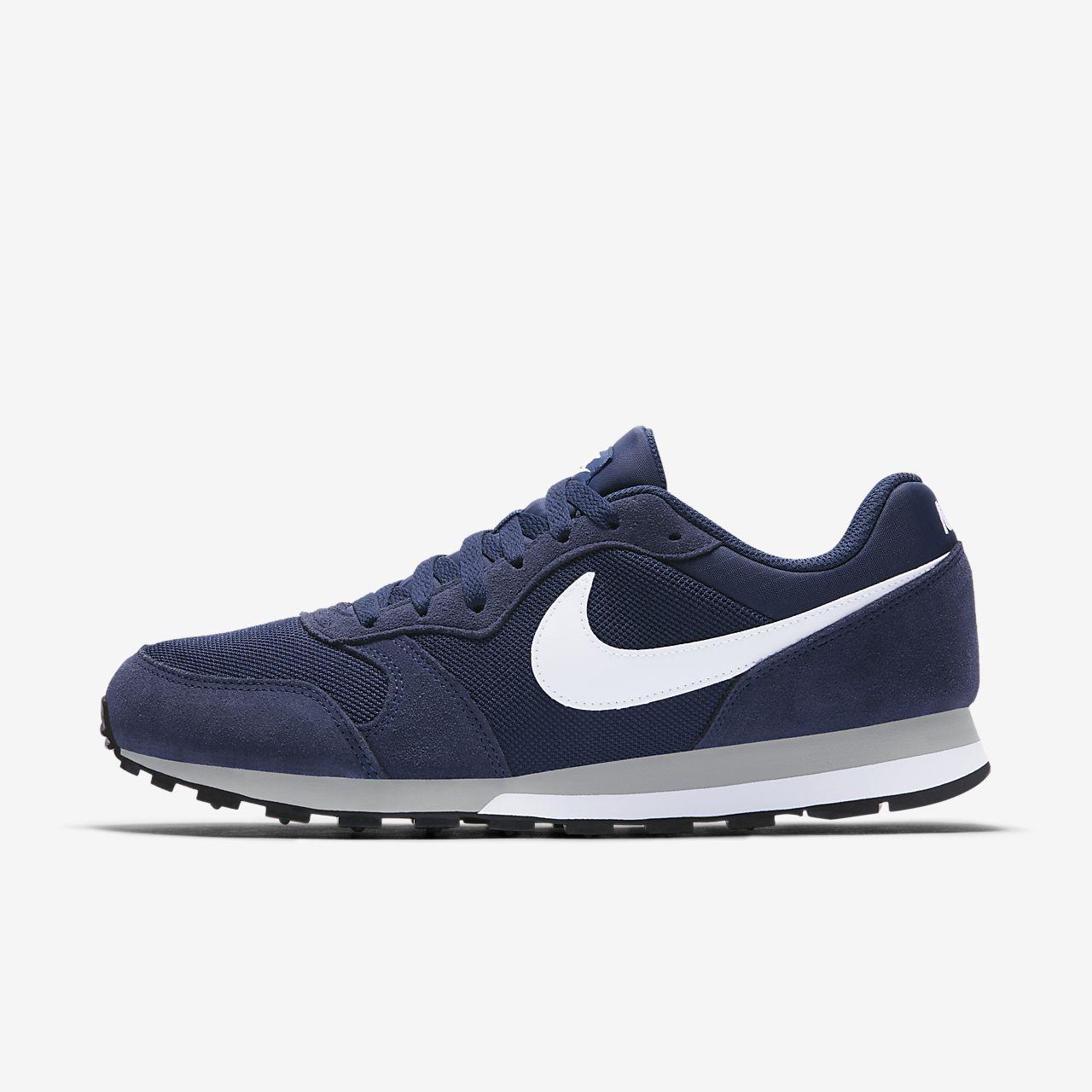 La moda Nuevo Tendencia Nike Md Runner 2, Zapatillas De
