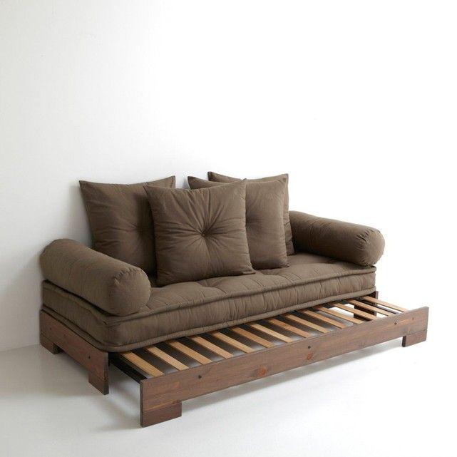 banquette lit de repos sahel 3 places socle co. Black Bedroom Furniture Sets. Home Design Ideas