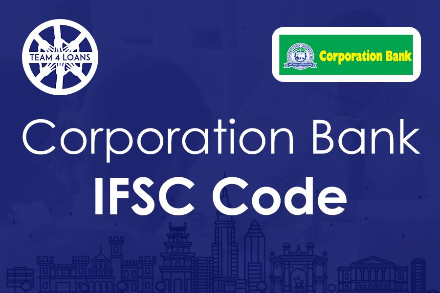 Corporation Bank Ifsc Code With Branch Details Coding Bank Of India Personal Loans