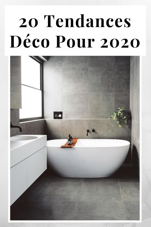 Tendance d co 2020 couleurs mati res id es - Couleur tendance pour salle de bain ...
