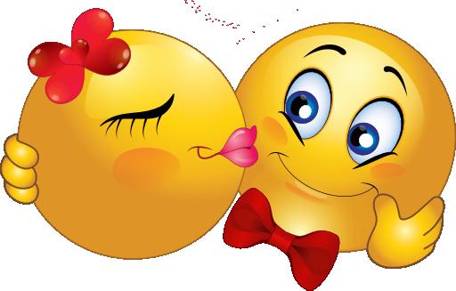 Smileys, Beau Sourire Et Coeur Amour