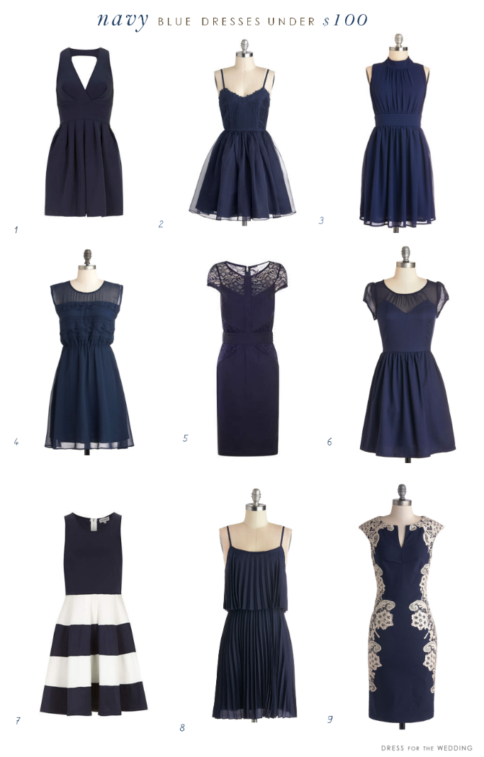 Navy Blue Dresses Under $100 | Pinterest | Stylish, Navy and Weddings