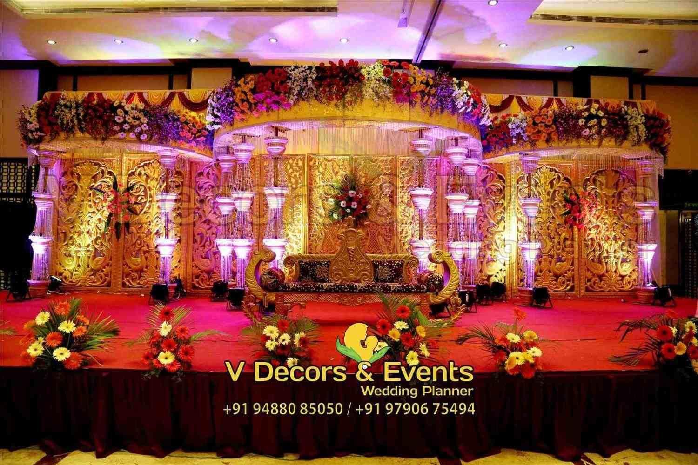 New wedding stage decoration  wedding ceremony stage decoration  Weddings  Pinterest  Wedding