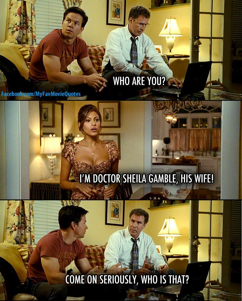 Come On Seriously Who Is That The Other Guys Best Movie Quotes Favorite Movie Quotes The Other Guys