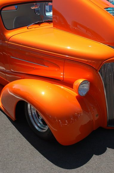 Love an orange hot rod...Re-pin brought to you by agents of #CarInsurance at #HouseofInsurance in Eugene97401