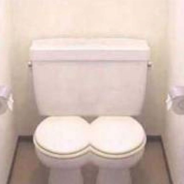 Cool Now Couples Can Use Toilet Together Lol Toilet Cool Creativecarmelina Interior Chair Design Creativecarmelinacom