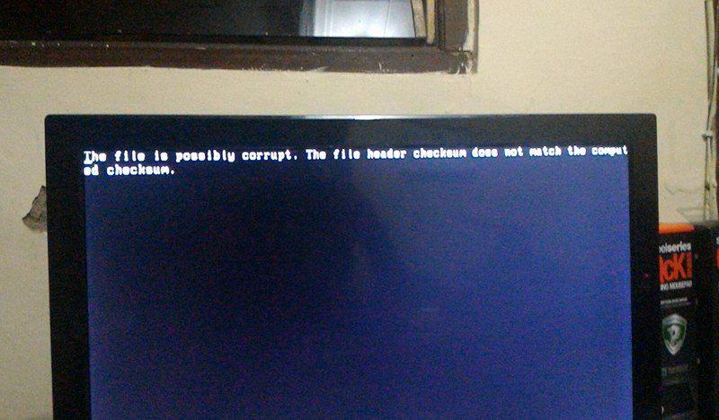 Tutorial Solusi Masalah Komputer - The file is possibly