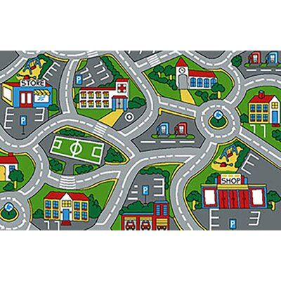Zoomie Kids Strait Kids Small Town Street Map Gray Area Rug ... on map blanket, map math, map toys, map sheet, map cabinet, map lamp, map decor, map pouf, map quilt, map tile, map storage, map clock, map upholstery, map tree, map bag, map frame, map accessories, map trunk, map furniture, map carpet,