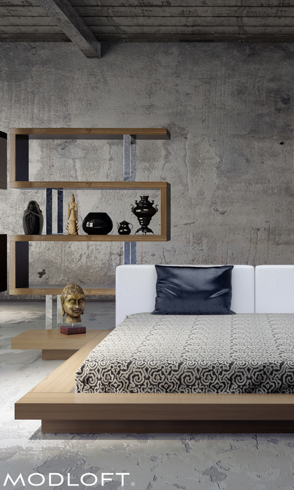 The classic Modloft Worth Bed. Many have tried to imitate
