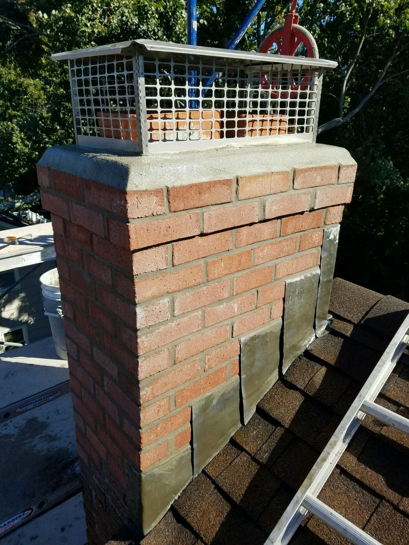 A New Chimney Is Born Chimney Sweep Clean Air Ducts Outdoor Decor