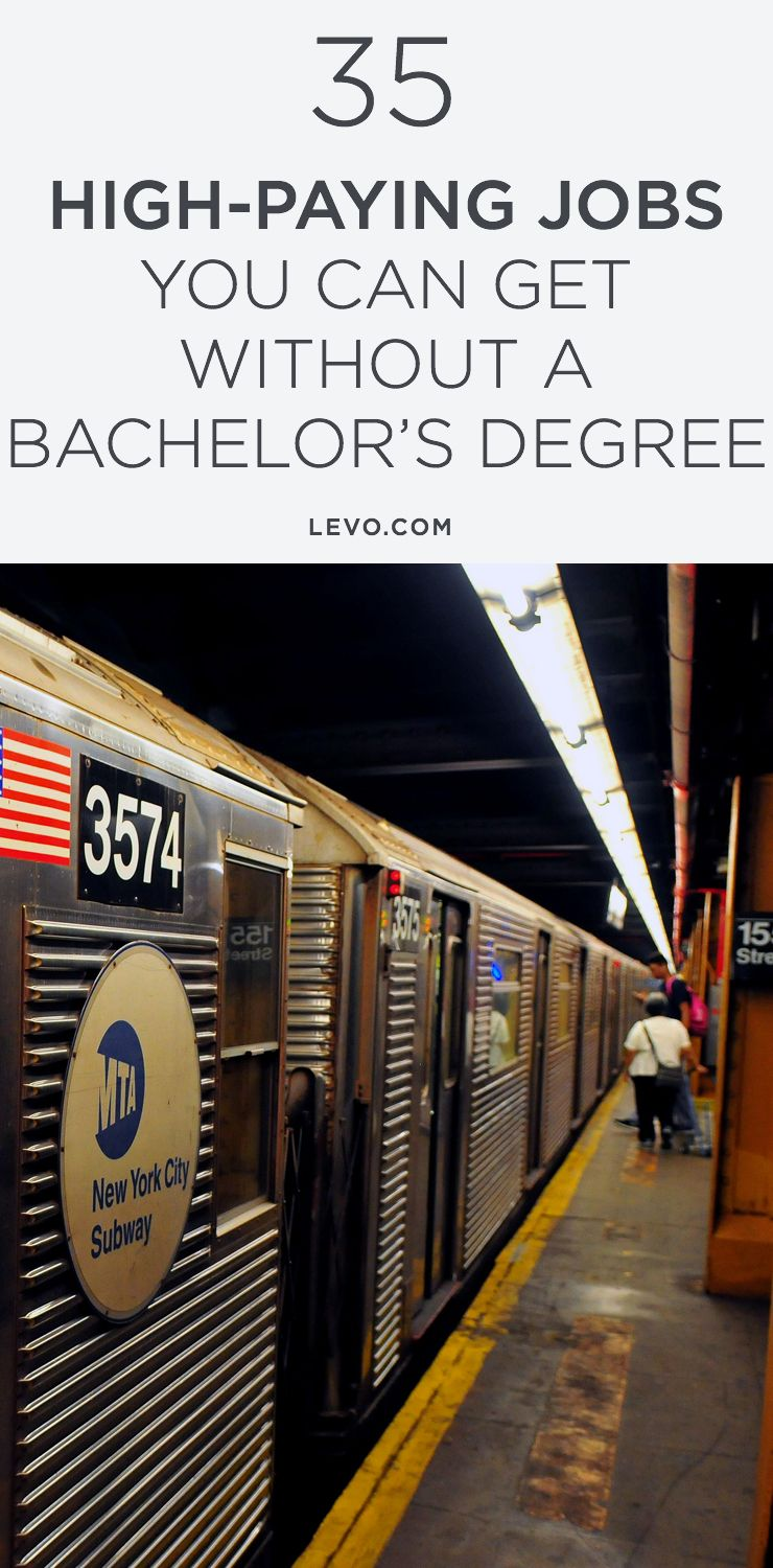 The 35 HighestPaying Jobs You Can Get Without a Bachelor