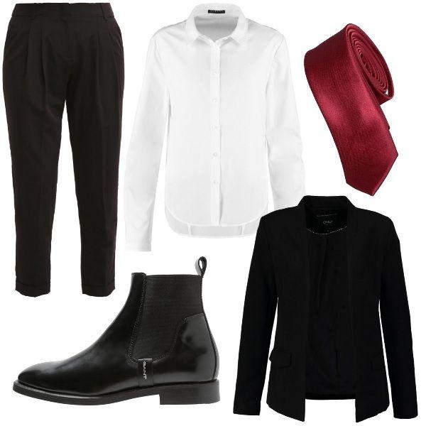the latest e016d 5422a Outfit androgino, adatto probabilmente per le ragazze più ...