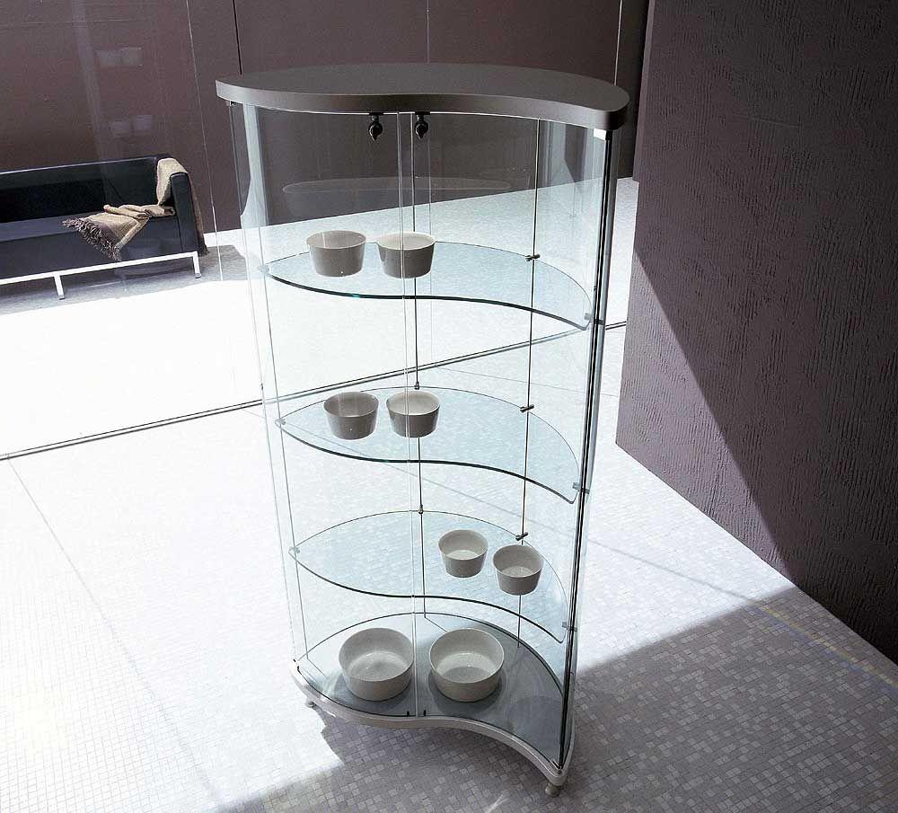 Modern Curio Cabinets Gl