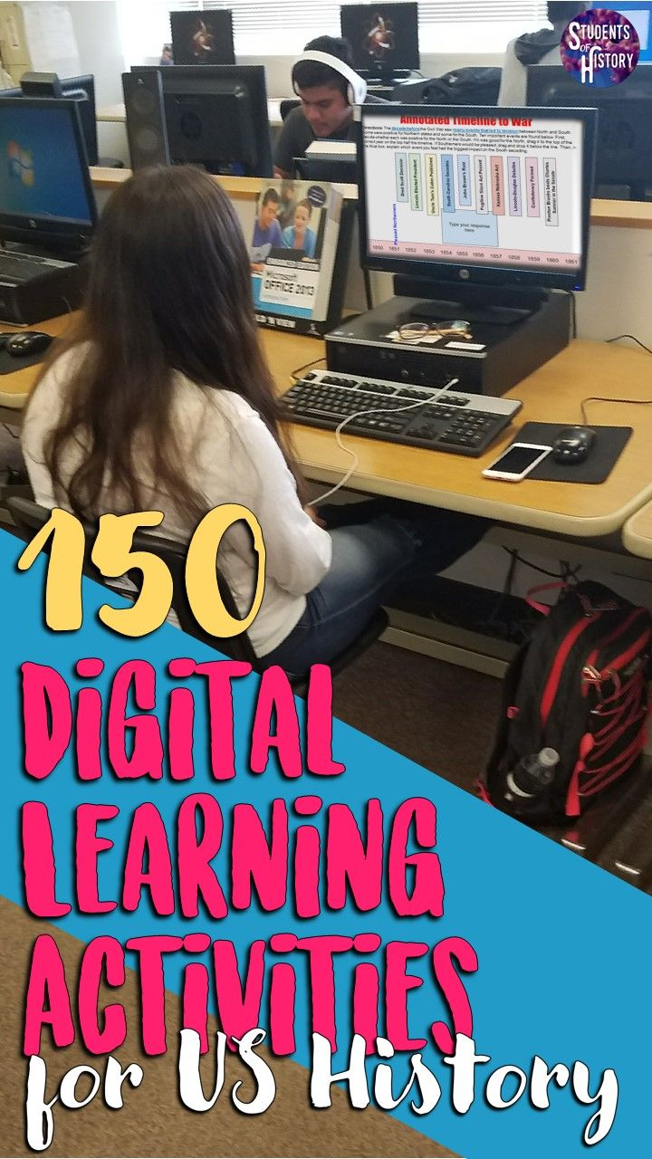 Photo of 150 Digital Activities for Distance Learning Social Studies