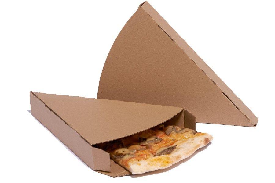Cu a porci n pizza cart n kraft para take away take away pizza cart n empaques y envases - Envases take away ...