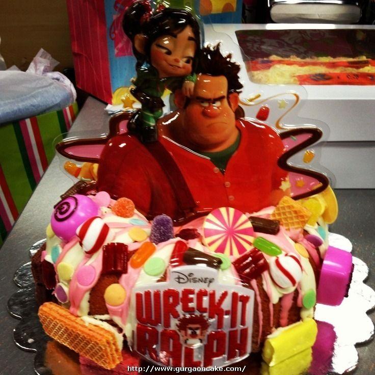 Ralphs Birthday Cake Picture Rae Is 3 Pinterest Birthday Cake