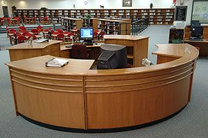 Library Circulation Desks By Tesco Industries Furniture