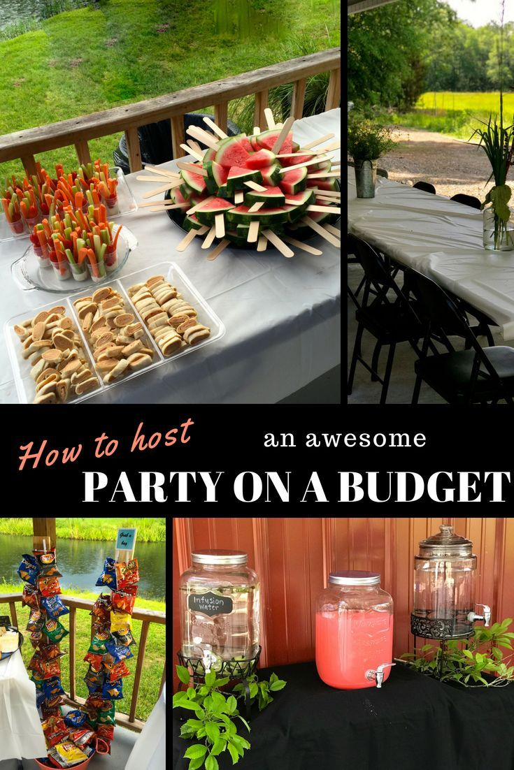 How to Host an Awesome Party on a Budget #partybudgeting