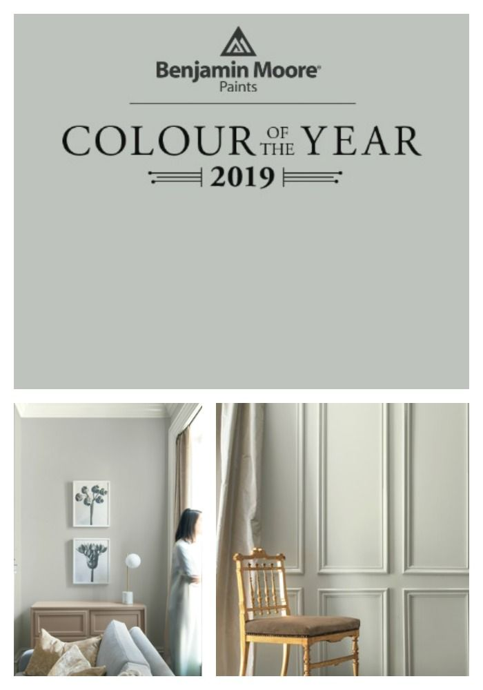 2019 colors of the year paint paletes cores parede - Benjamin moore interior paint colors ...