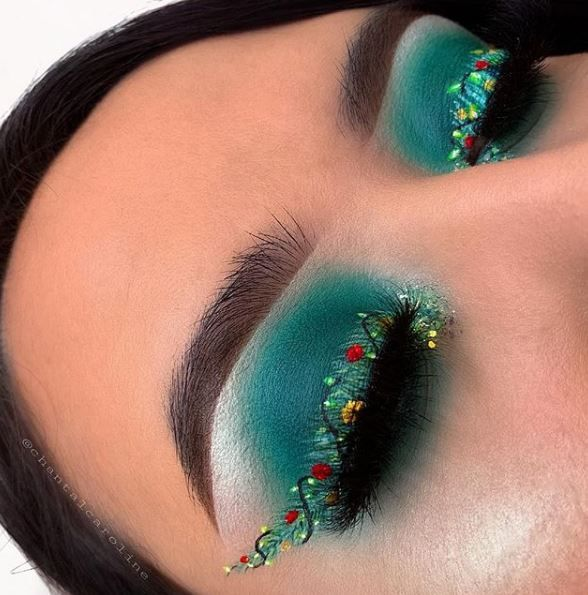 25 Winter Makeup Looks to Get You in the Holiday Spirit