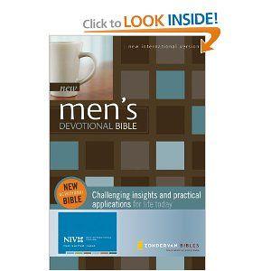NIV New Men's Devotional Bible