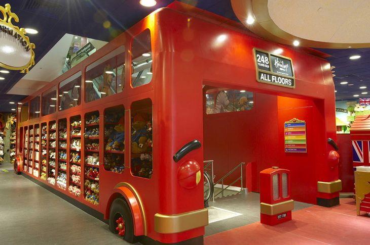 Toy Store In Hamleys Regent Street By Wdl Interior Design