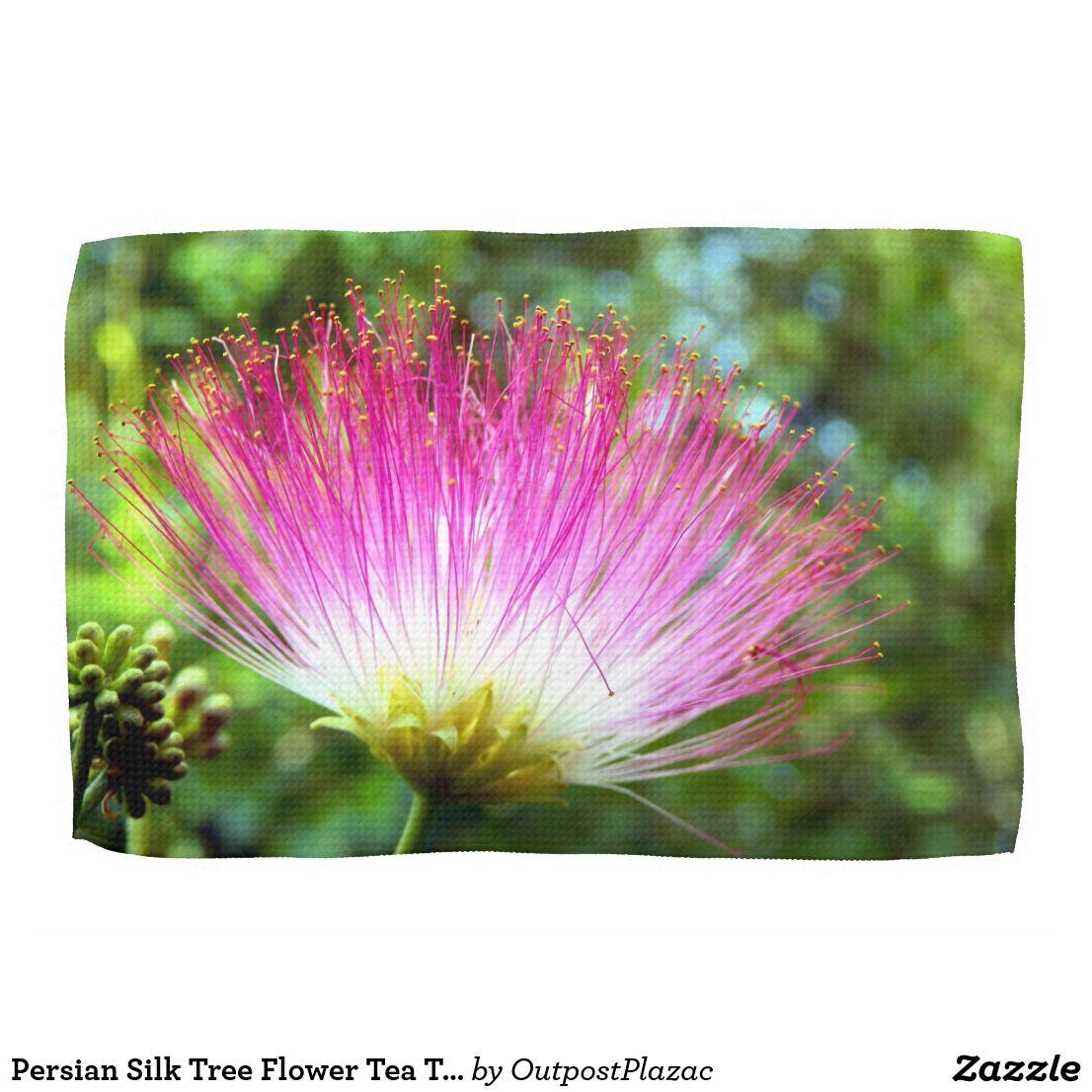 Persian Silk Tree Flower Tea Towels Pinterest Persian Silk Tree