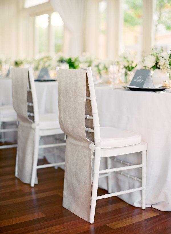 Linen Chair Back With Images Modern Wedding Chair Covers Vintage Wedding Table Wedding Table Linens