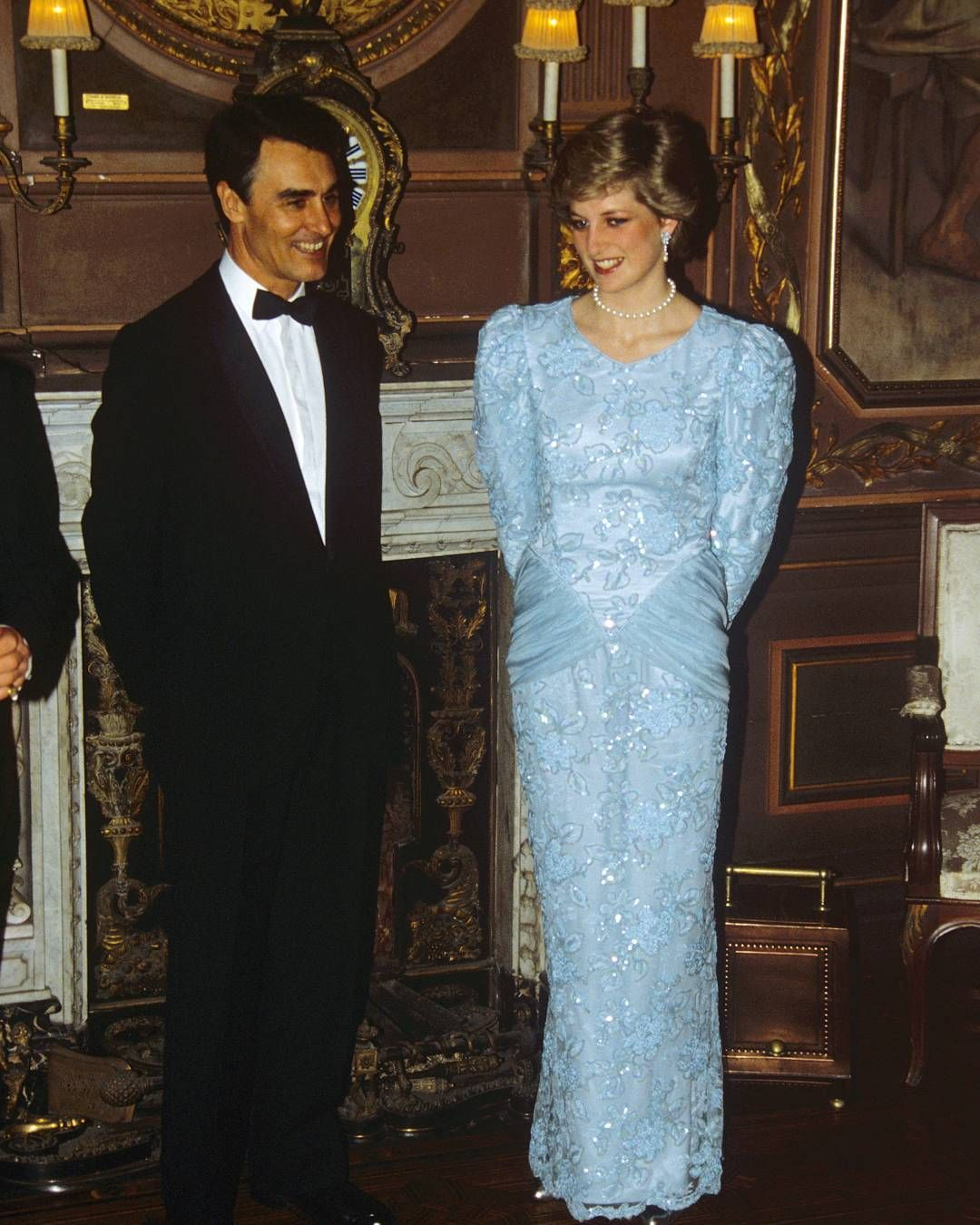February 13, 1987: Princess Diana with Portuguese Prime Minister ...