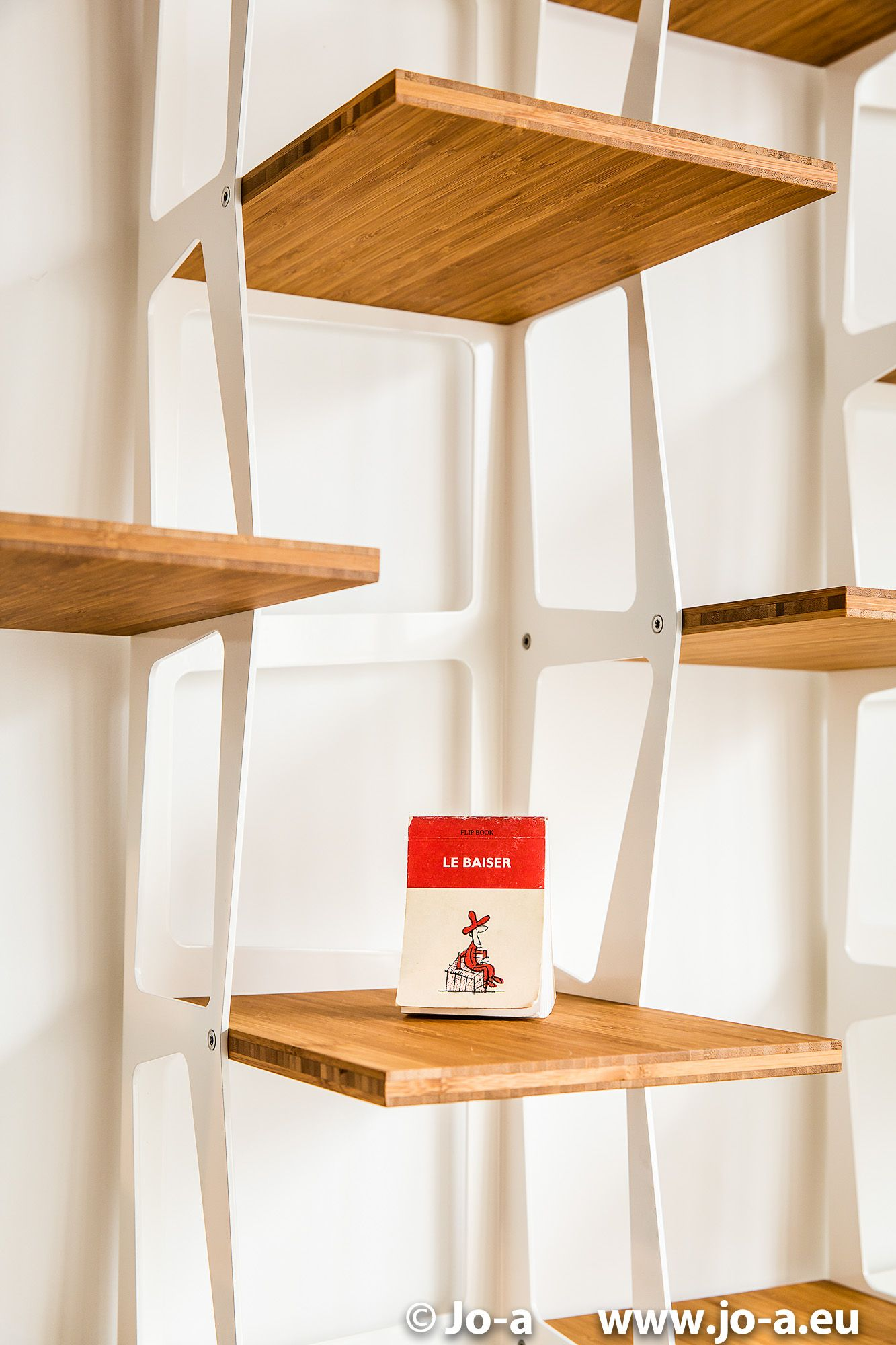 Cute Bookshelf cute isn't it? céli modular bookshelf - white design shelving