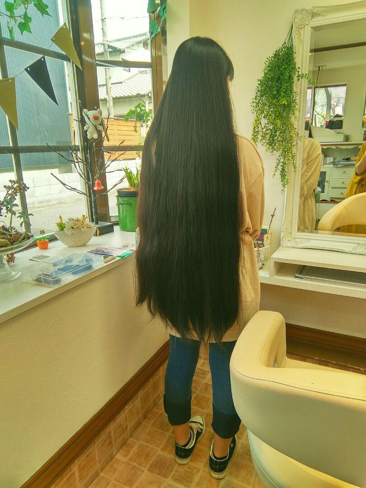 ボード 黒髪ロング のピン