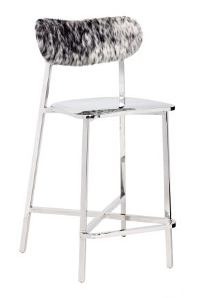 STANLEY COUNTER STOOL   COWHIDE Sunpan Furniture   STANLEY COUNTER STOOL    COWHIDE