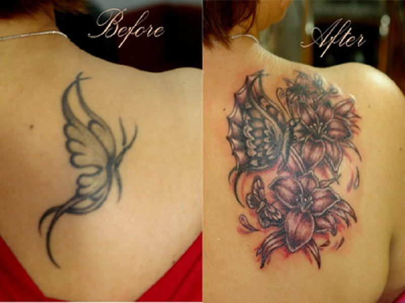 Best coverup tattoos for cross cover up tattoo ideas to for Cool cover up tattoos