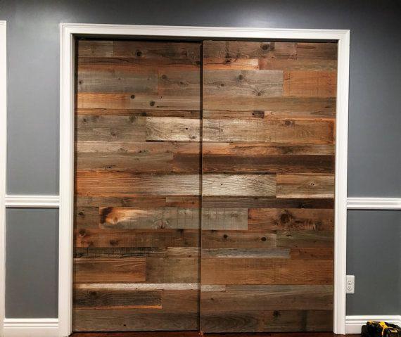 Reclaimed Barn Door- reclaimed wood - sliding door - reclaimed ...