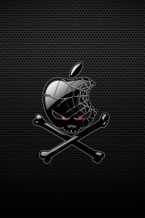 Pin On Apple Skull Best hd wallpapers for iphone 4s