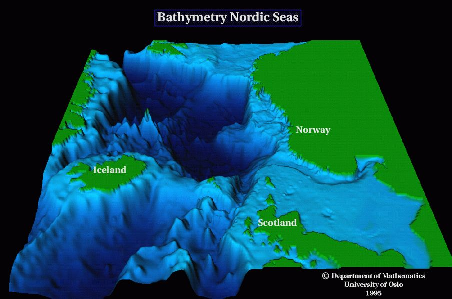 Sea-Floor Sunday #63 Bathymetric maps in vicinity of - copy world map with ocean trenches
