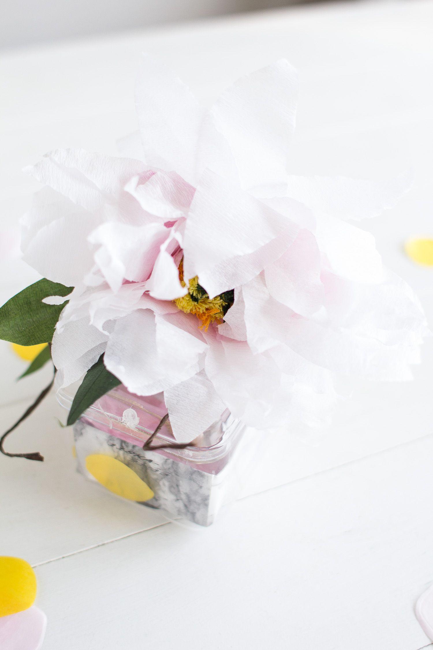 Nice preparation of paper flowers model wedding and flowers preparation of paper flowers gallery flower decoration ideas mightylinksfo